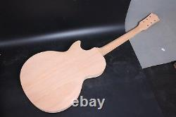Unfinished 1set Mahogany Guitar Body+guitar Neck Diy Electric Guitar Project