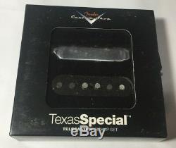 Véritable Etats-unis Fender Custom Shop Texas Special Tele Guitar Ramassage Série Américaine Nouveau