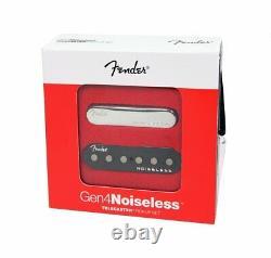 Véritable Fender Gen 4 Noiseless Telecaster/tele Guitar Pickups Set 099-2261-000