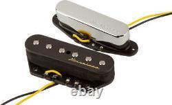 Véritable Fender Vintage Bruitless Telecaster Tele Guitar Pickups Set 0992116000