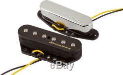 Véritable Fender Vintage Noiseless Telecaster Tele Guitare Micros Set 0992116000
