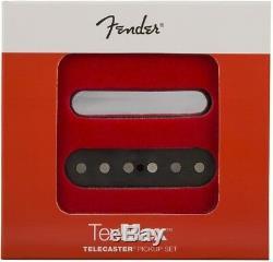Véritable Nouvelle Fender Tex-mex Telecaster / Tele Guitare Ensemble De 2 0992263000 Ramassage