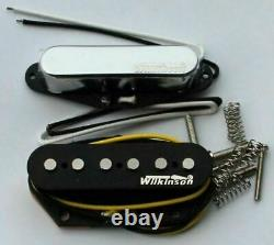 Wilkinson 60 Set De Ramassage De Wvt Vintage Alnico V Pour Telecaster Type Guitares À